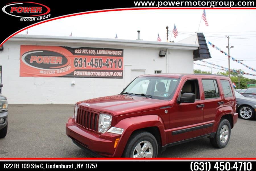 Used Jeep Liberty 4WD 4dr Sport 2012   Power Motor Group. Lindenhurst, New York
