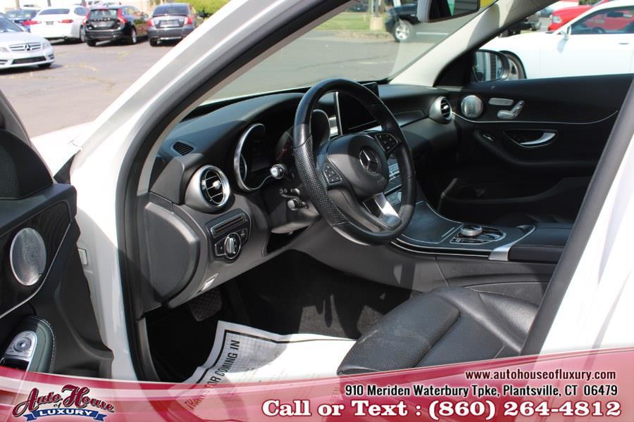 Used Mercedes-Benz C-Class C 300 4MATIC Sedan with Luxury Pkg 2017 | Auto House of Luxury. Plantsville, Connecticut