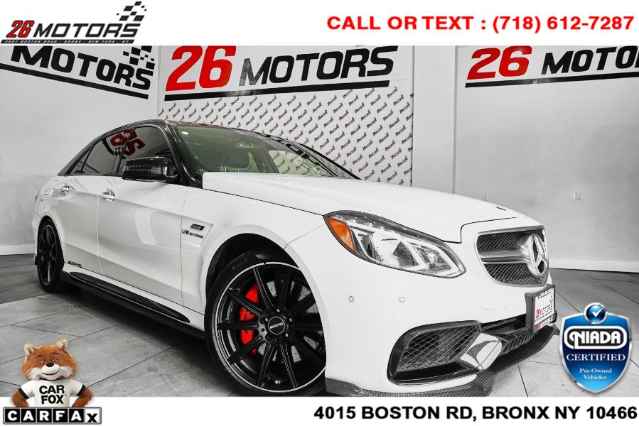 Used Mercedes-Benz E-Class 4dr Sdn AMG E 63 S 4MATIC 2016 | 26 Motors Corp. Bronx, New York