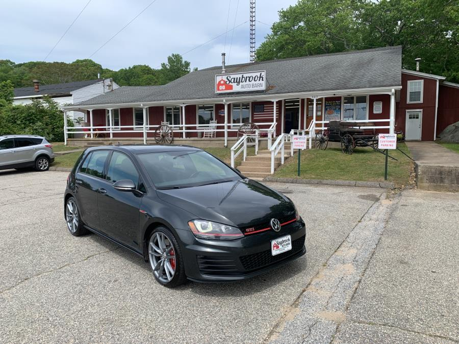 Used 2016 Volkswagen Golf GTI in Old Saybrook, Connecticut | Saybrook Auto Barn. Old Saybrook, Connecticut