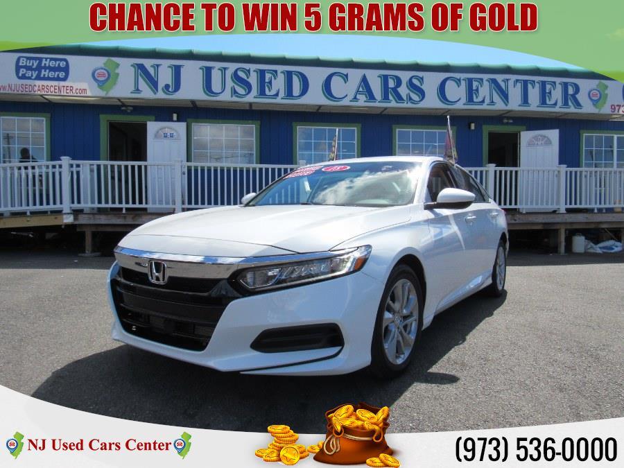 Used Honda Accord Sedan LX 1.5T CVT 2018 | NJ Used Cars Center. Irvington, New Jersey