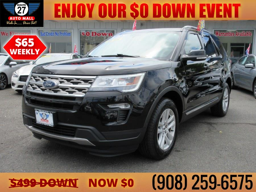 Used 2018 Ford Explorer in Linden, New Jersey | Route 27 Auto Mall. Linden, New Jersey
