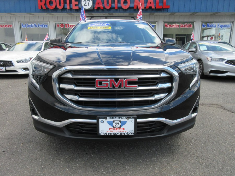 Used GMC Terrain AWD 4dr SLT 2018   Route 27 Auto Mall. Linden, New Jersey