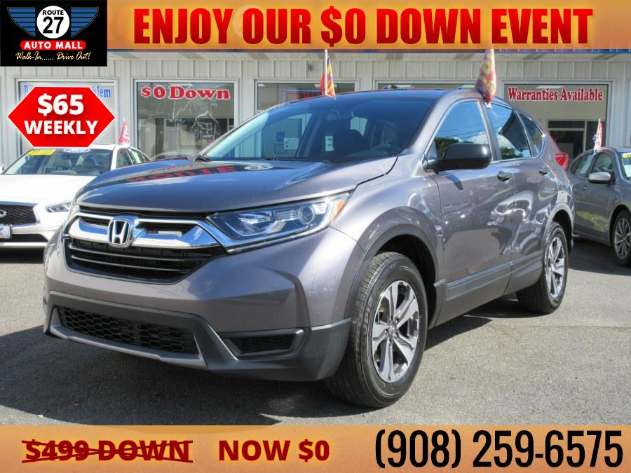 Used 2018 Honda CR-V in Linden, New Jersey | Route 27 Auto Mall. Linden, New Jersey