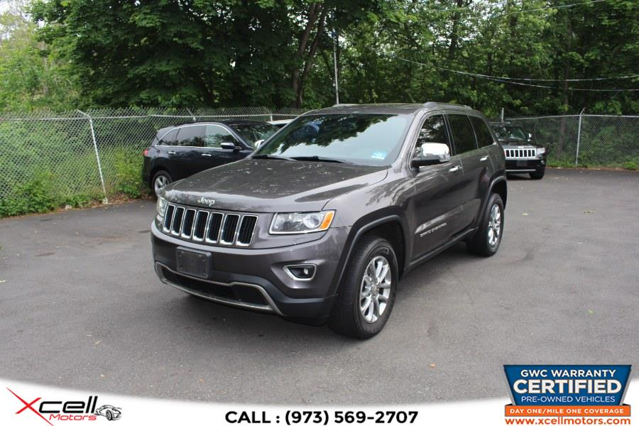 Used Jeep Grand Cherokee 4WD 4dr Limited 2015 | Xcell Motors LLC. Paterson, New Jersey