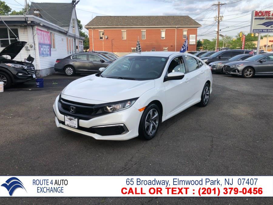 Used Honda Civic Sedan LX CVT 2019 | Route 4 Auto Exchange. Elmwood Park, New Jersey