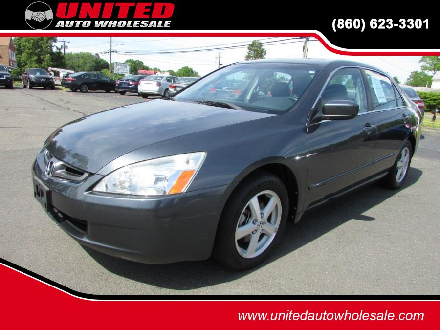 Used Honda Accord Sdn EX-L AT 2005 | United Auto Sales of E Windsor, Inc. East Windsor, Connecticut