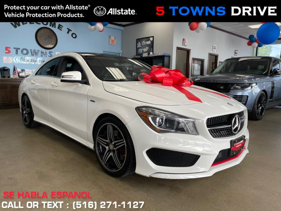 Used Mercedes-Benz CLA AMG PKG 4dr Sdn CLA 250 FWD 2016 | 5 Towns Drive. Inwood, New York
