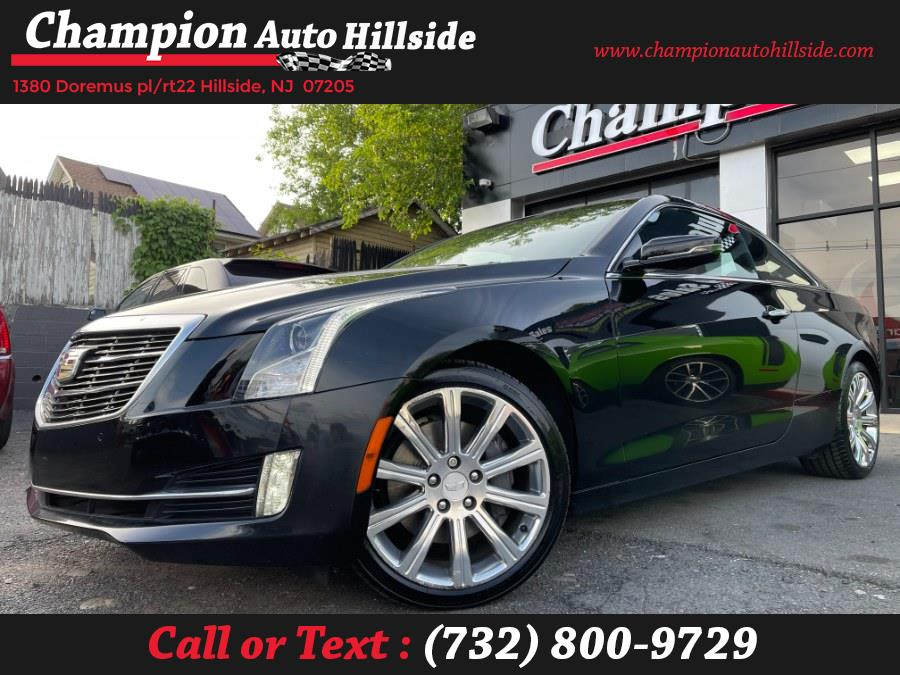 Used 2015 Cadillac ATS Coupe in Hillside, New Jersey | Champion Auto Sales. Hillside, New Jersey