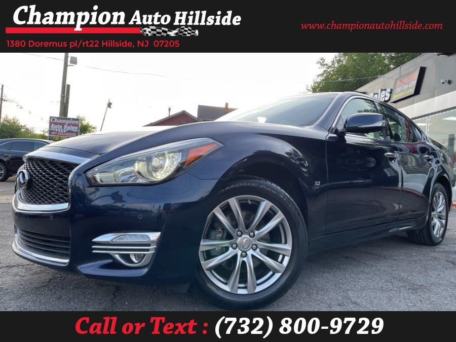 Used 2016 INFINITI Q70 in Hillside, New Jersey | Champion Auto Sales. Hillside, New Jersey