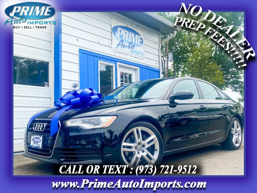 Used 2015 Audi A6 in Bloomingdale, New Jersey | Prime Auto Imports. Bloomingdale, New Jersey