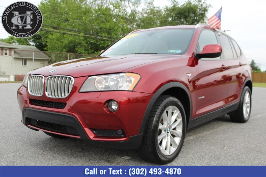 Used BMW X3 AWD 4dr xDrive28i 2014 | Morsi Automotive Corp. New Castle, Delaware