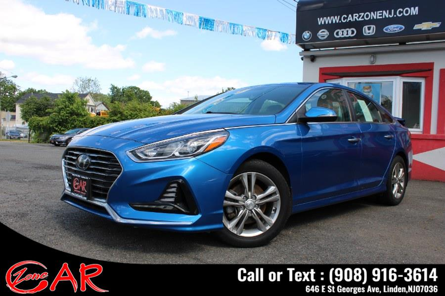 Used Hyundai Sonata SEL 2.4L SULEV *Ltd Avail* 2018 | Car Zone. Linden, New Jersey