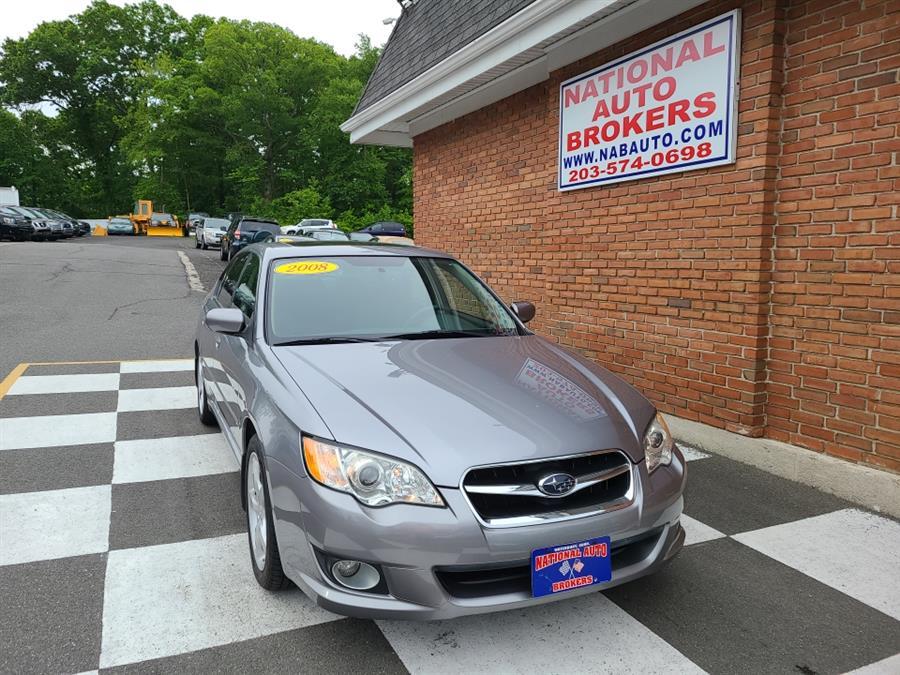 Used Subaru Legacy 4dr H4 Auto 2008   National Auto Brokers, Inc.. Waterbury, Connecticut