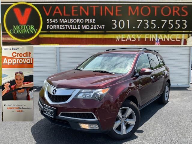 Used Acura Mdx  2012 | Valentine Motor Company. Forestville, Maryland