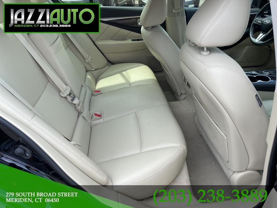 Used INFINITI Q50 3.0t LUXE AWD 2018 | Jazzi Auto Sales LLC. Meriden, Connecticut