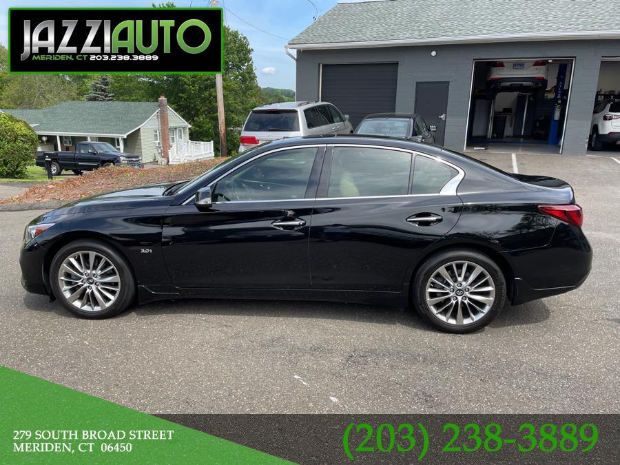 Used 2018 INFINITI Q50 in Meriden, Connecticut | Jazzi Auto Sales LLC. Meriden, Connecticut
