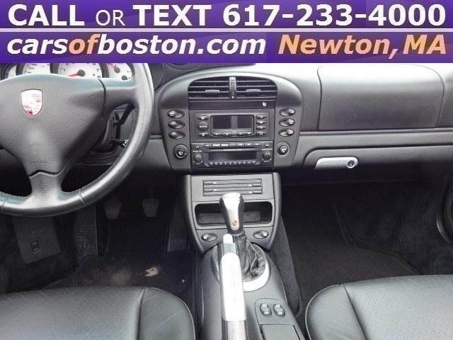 Used Porsche 911 2dr Cabriolet Carrera 6-Spd Manual 2004   Motorcars of Boston. Newton, Massachusetts