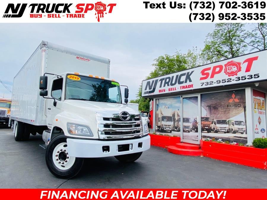Used HINO 268A 26 FEET DRY BOX + LIFT GATE + NO CDL 2019   NJ Truck Spot. South Amboy, New Jersey