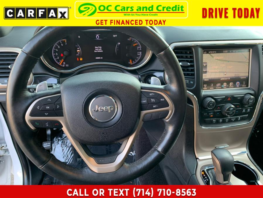 Used Jeep Grand Cherokee 4WD 4dr Limited 75th Anniversary 2016 | OC Cars and Credit. Garden Grove, California