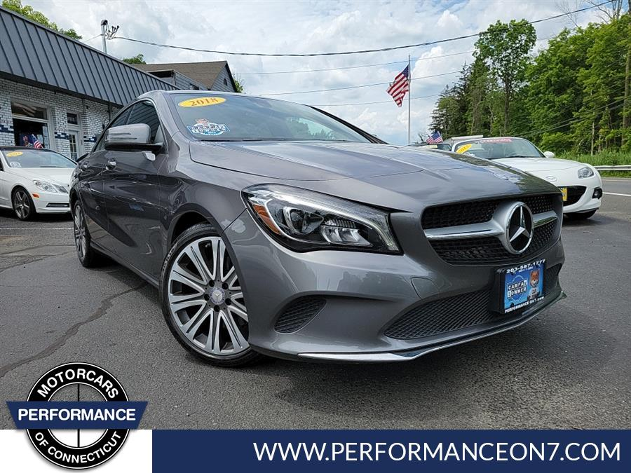 Used 2018 Mercedes-Benz CLA in Wilton, Connecticut   Performance Motor Cars Of Connecticut LLC. Wilton, Connecticut