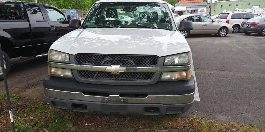 "Used Chevrolet Silverado 1500 Reg Cab 133.0"" WB Work Truck 2004 | Payless Auto Sale. South Hadley, Massachusetts"