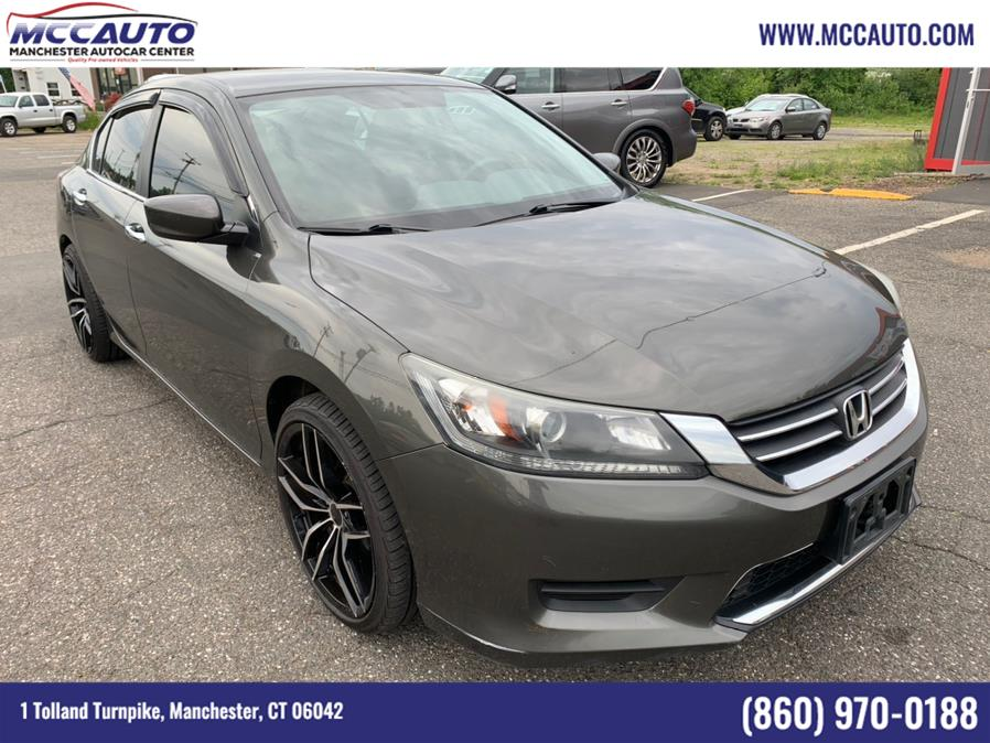 2013 Honda Accord Sdn 4dr I4 CVT LX, available for sale in Manchester, CT
