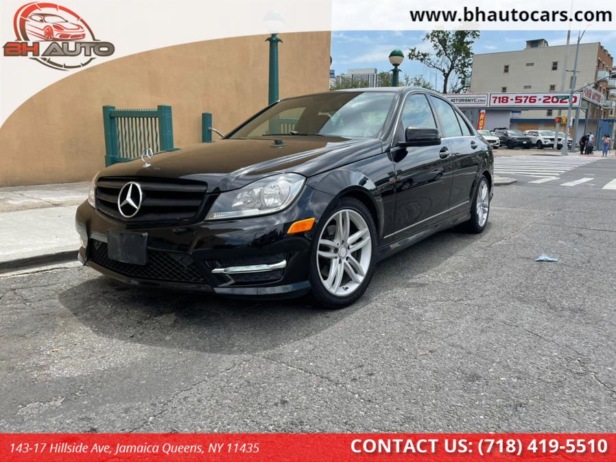 Used Mercedes-Benz C-Class 4dr Sdn C300 Sport 4MATIC 2012 | BH Auto. Jamaica Queens, New York