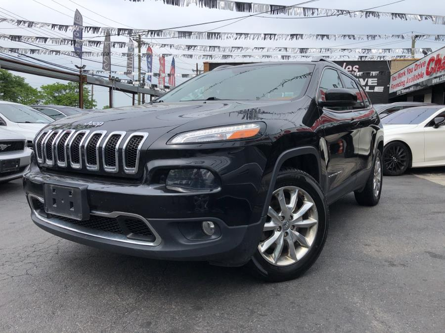 Used Jeep Cherokee 4WD 4dr Limited 2015 | Champion Auto Sales. Bronx, New York