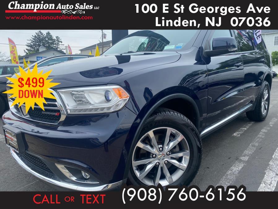 Used 2015 Dodge Durango in Linden, New Jersey | Champion Auto Sales. Linden, New Jersey