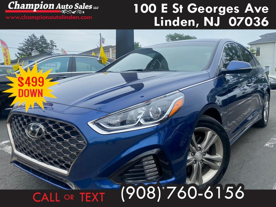 Used 2018 Hyundai Sonata in Linden, New Jersey | Champion Auto Sales. Linden, New Jersey