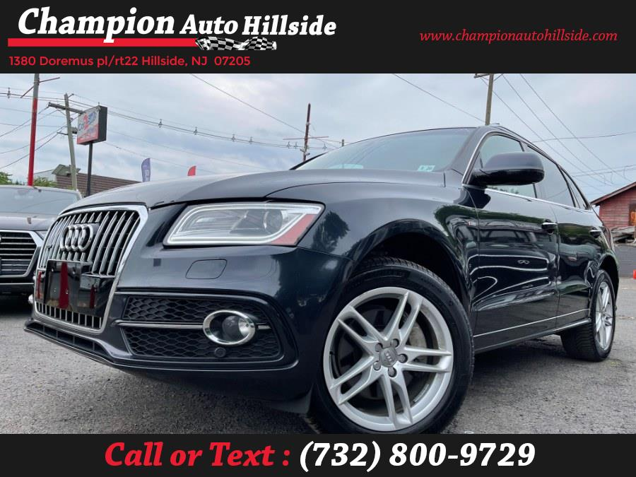 Used 2015 Audi Q5 in Hillside, New Jersey | Champion Auto Hillside. Hillside, New Jersey