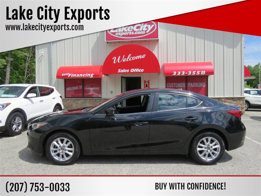 Used Mazda Mazda3 i Grand Touring 4dr Sedan 6A 2016 | Lake City Exports Inc. Auburn, Maine