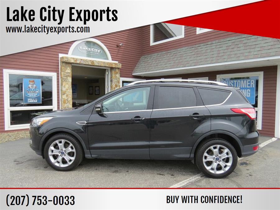 Used Ford Escape Titanium AWD 4dr SUV 2015   Lake City Exports Inc. Auburn, Maine