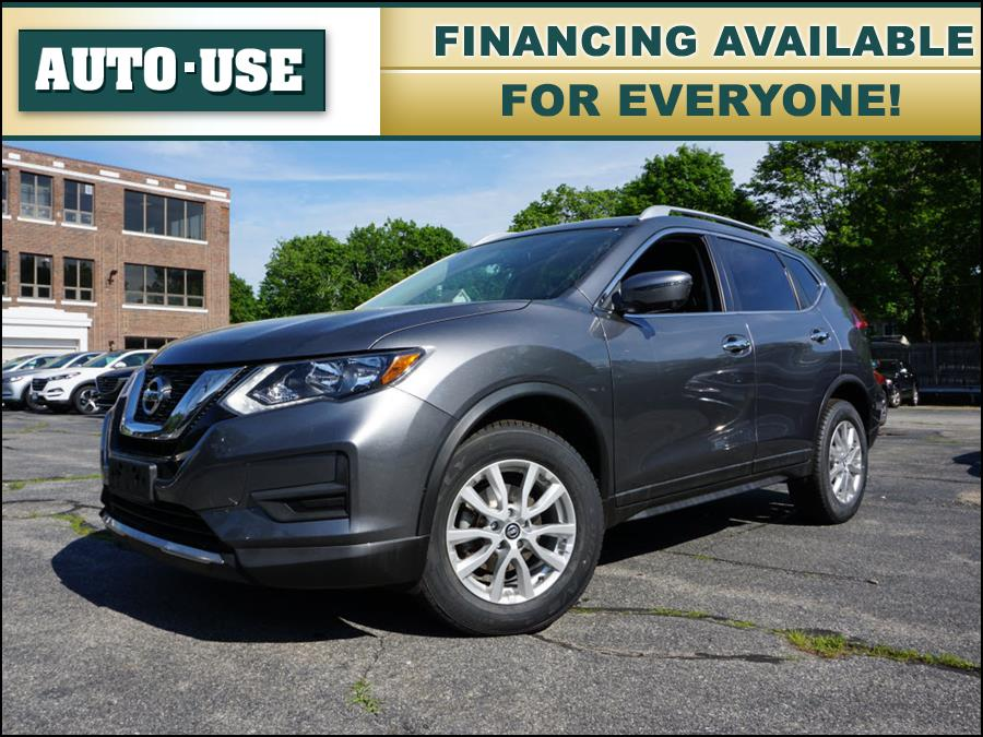 Used Nissan Rogue SV 2017 | Autouse. Andover, Massachusetts
