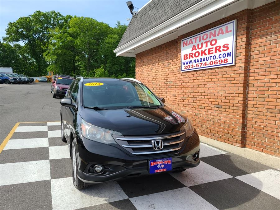 Used Honda CR-V AWD 5dr EX-L 2014   National Auto Brokers, Inc.. Waterbury, Connecticut