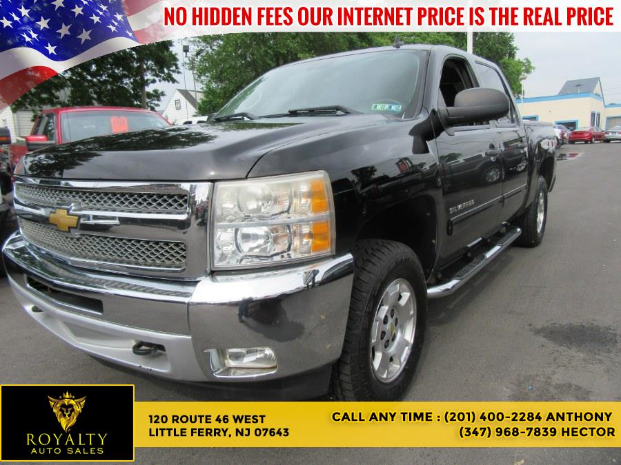"""Used Chevrolet Silverado 1500 4WD Crew Cab 143.5"""" LT 2012 