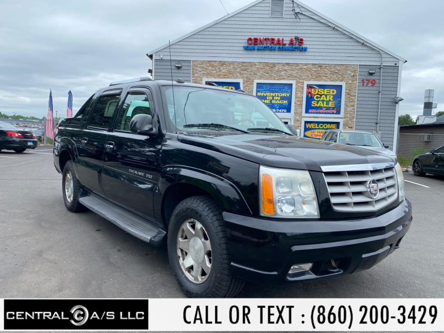 Used Cadillac Escalade EXT 4dr AWD 2004 | Central A/S LLC. East Windsor, Connecticut