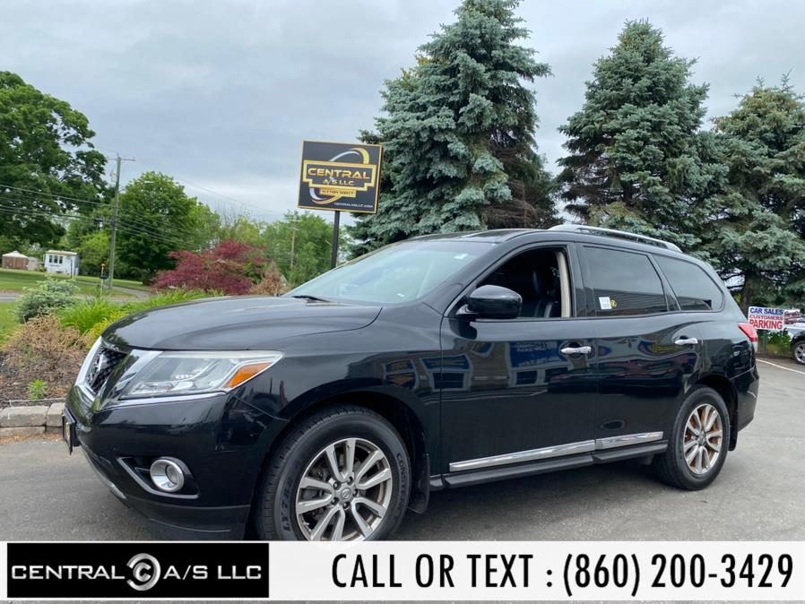 Used Nissan Pathfinder 4WD 4dr S 2015   Central A/S LLC. East Windsor, Connecticut