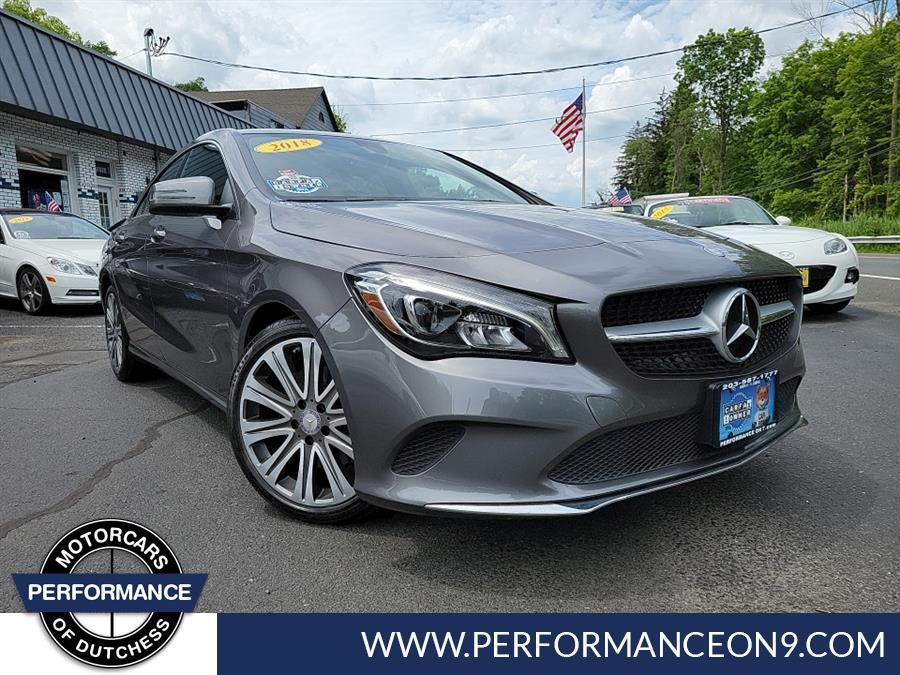 Used 2018 Mercedes-Benz CLA in Wappingers Falls, New York | Performance Motorcars Inc. Wappingers Falls, New York