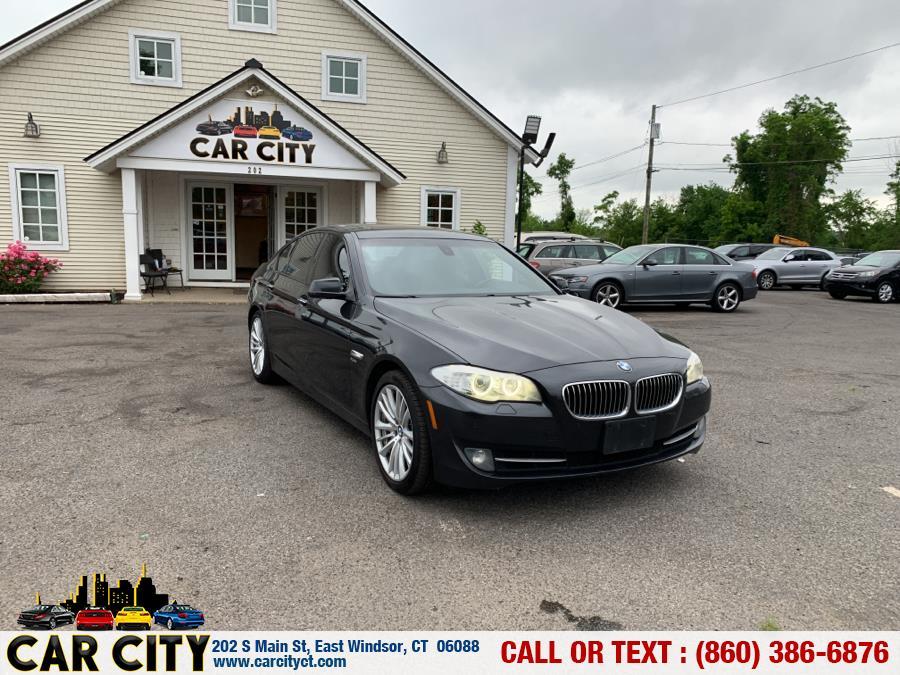 Used BMW 5 Series 4dr Sdn 535i xDrive AWD 2012 | Car City LLC. East Windsor, Connecticut