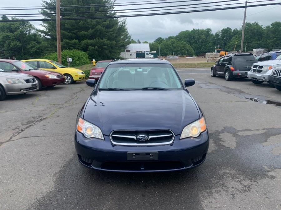 Used 2007 Subaru Legacy Sedan in East Windsor, Connecticut | CT Car Co LLC. East Windsor, Connecticut