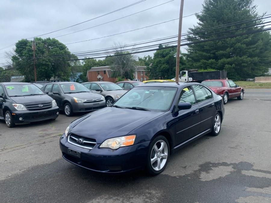 Used Subaru Legacy Sedan 4dr H4 AT 2007   CT Car Co LLC. East Windsor, Connecticut