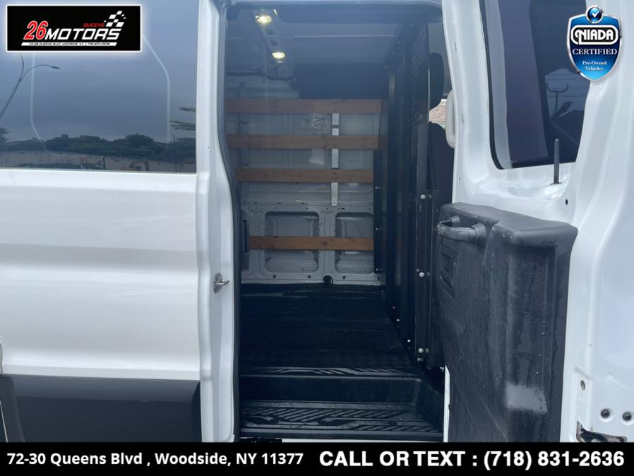 """Used Ford Transit Van T-250 130"""" Low Rf 9000 GVWR Swing-Out RH Dr 2017   26 Motors Queens. Woodside, New York"""