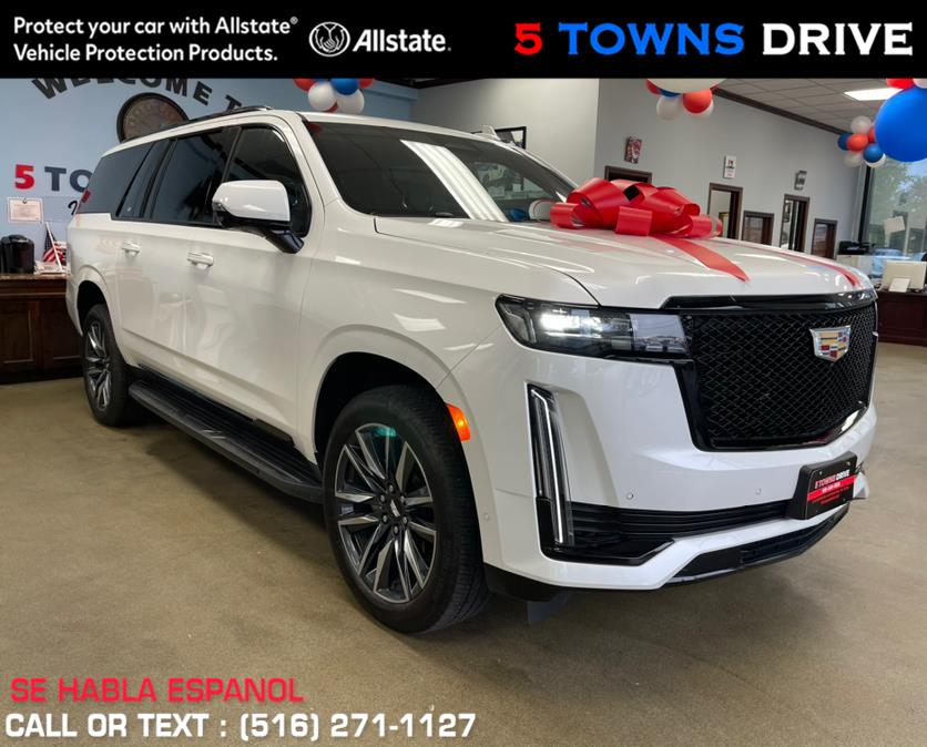 Used Cadillac Escalade ESV 4WD 4dr Sport 2021 | 5 Towns Drive. Inwood, New York
