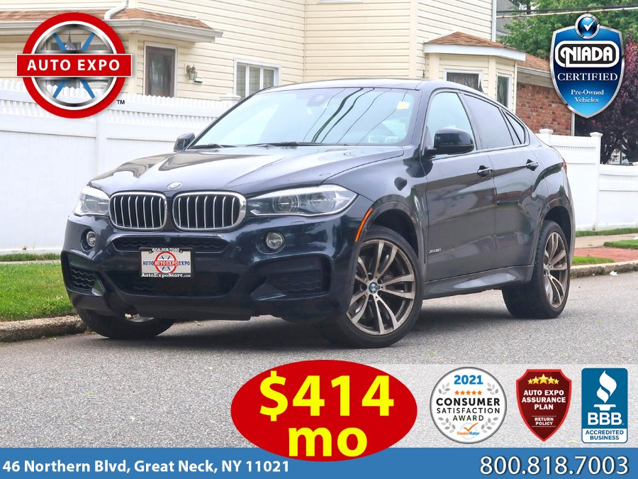 Used 2016 BMW X6 in Great Neck, New York | Auto Expo Ent Inc.. Great Neck, New York