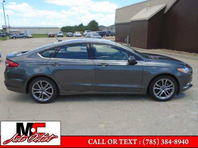 Used Ford Fusion S FWD 2017 | M C Auto Outlet Inc. Colby, Kansas