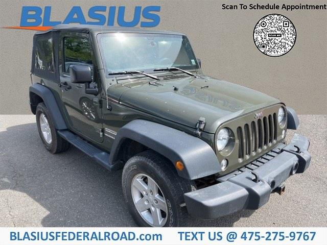 Used Jeep Wrangler Sport 2015 | Blasius Federal Road. Brookfield, Connecticut