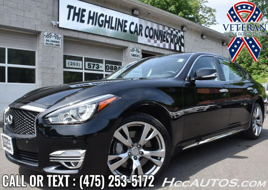 Used INFINITI Q70L 3.7 LUXE AWD 2018 | Highline Car Connection. Waterbury, Connecticut