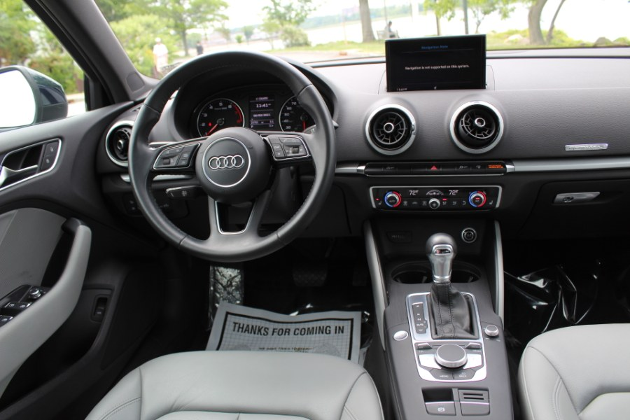 2018 Audi A3 Sedan 2.0 TFSI Premium quattro AWD, available for sale in Great Neck, NY